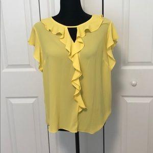 Vince Camuto Yellow Shirt